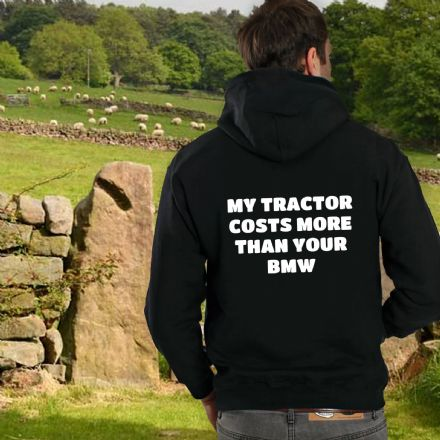 My Tractor Costs More Than Your BMW